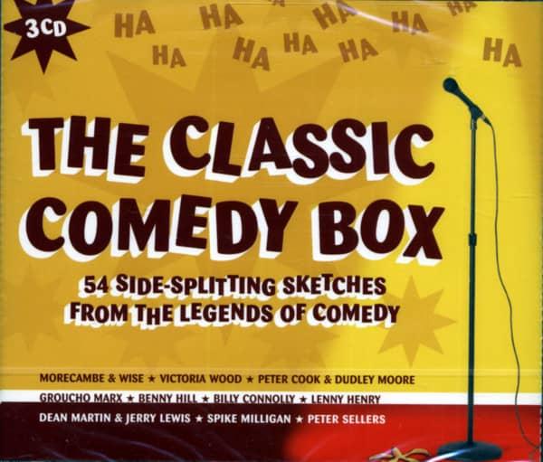 The Classic Comedy Box (3-CD)