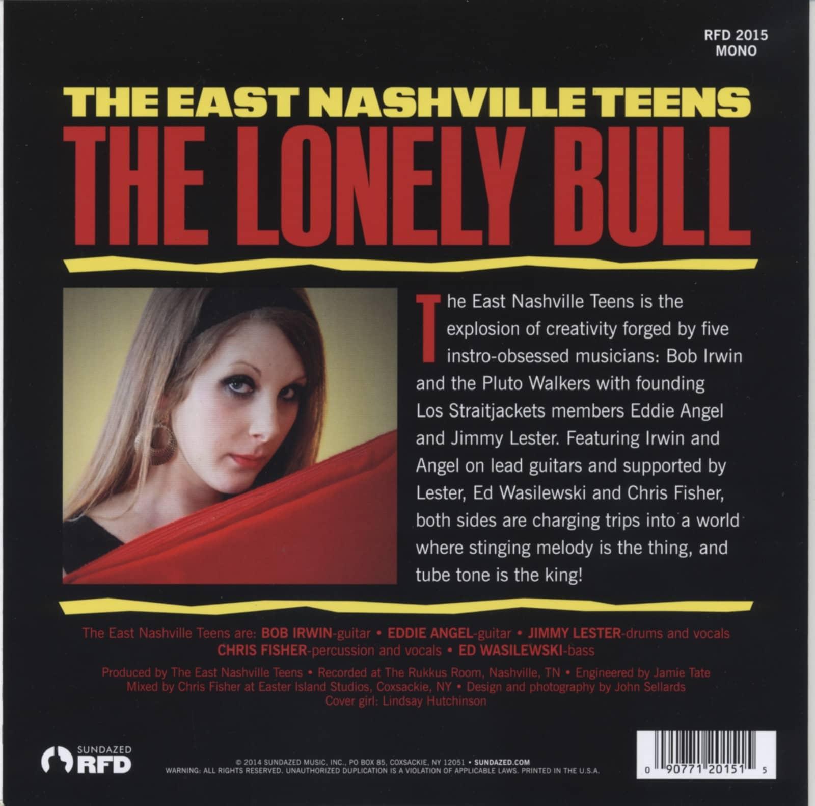 East Nashville Teens 7inch The Lonely Bull Bullseye