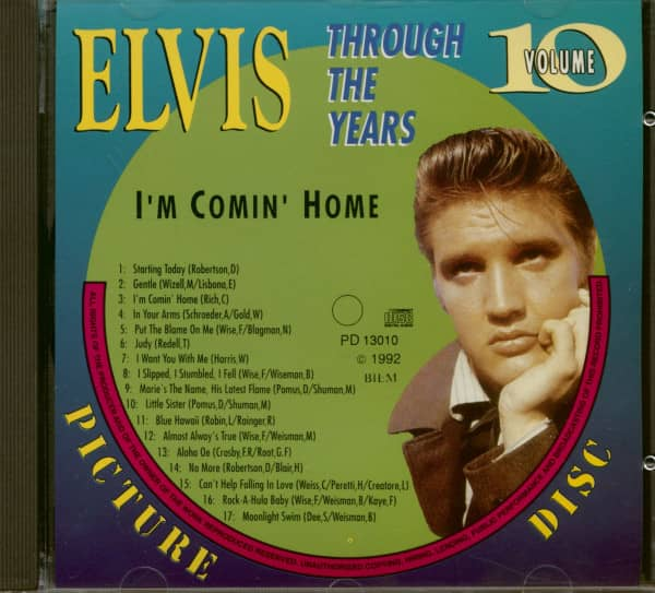 Through The Years Vol.10 - I'm Coming Home (CD)