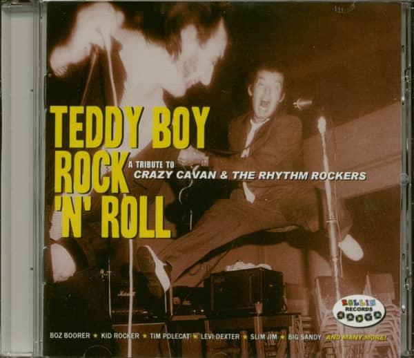 Teddy Boy Rock & Roll - A Tribute To Crazy Cavan & The Rhythm Rockers (CD)