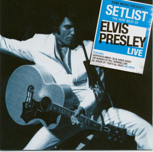 Setlist - The Very Best Of Elvis Presley Live (CD)