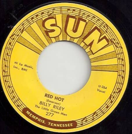 Red Hot - Pearly Lee (7inch, 45rpm)