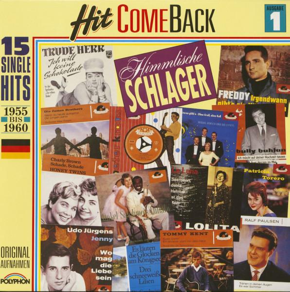 Hit Come Back - Himmlische Schlager Nr. 1 - 1955-1960 (LP)