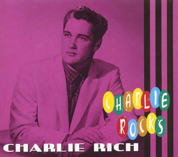 Charlie Rich - Charlie Rocks (CD)