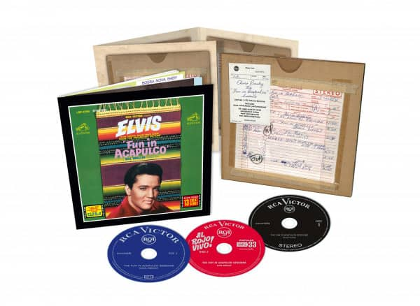 The Fun In Acapulco Sessions (3-CD)