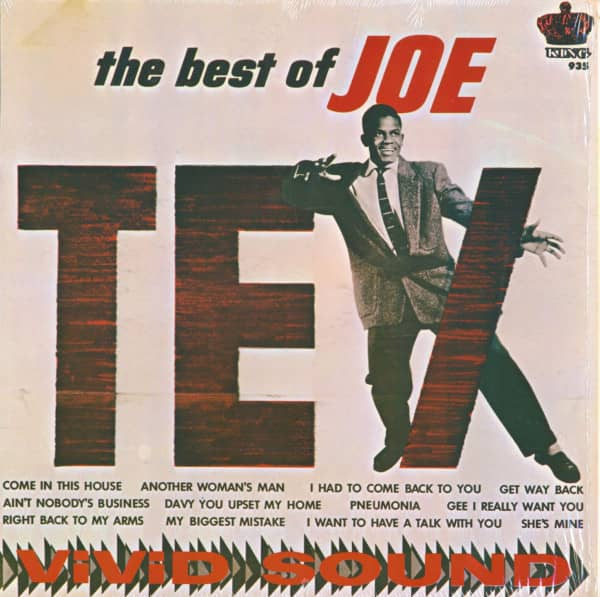 The Best Of Joe Tex (LP Album)