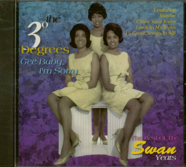 Gee Baby I'm Sorry - Best Of Swan Years (CD)