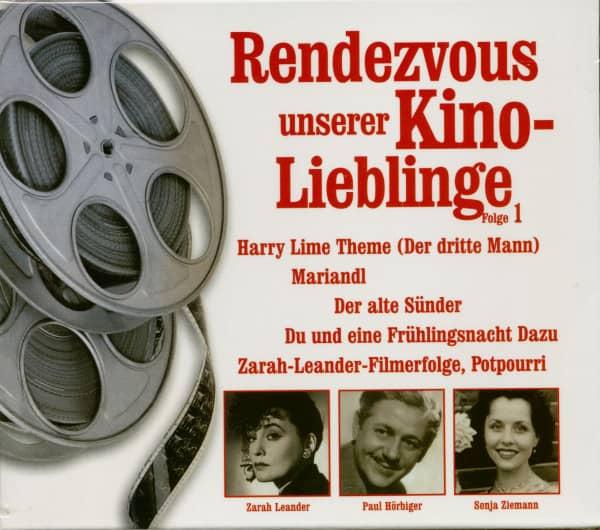 Rendezvous Unserer Kino-Lieblinge, Folge 1 (CD)