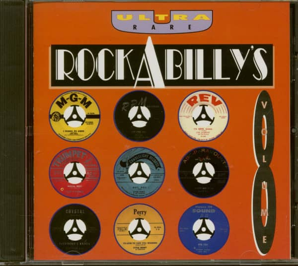 Ultra Rare Rockabilly's Vol.8 (CD)