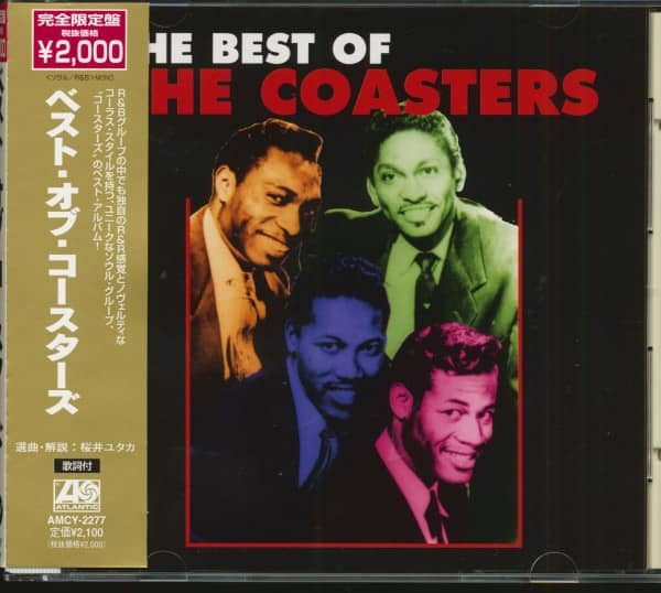 The Best Of The Coasters (CD, Japan)