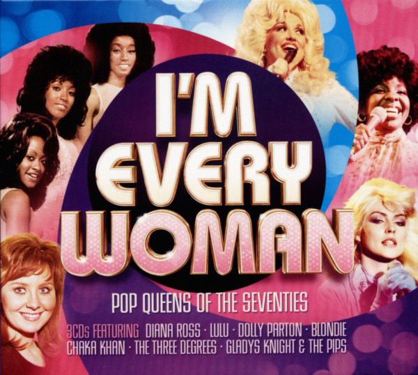 I'm Every Woman - Pop Queens Of The 70s (3-CD)