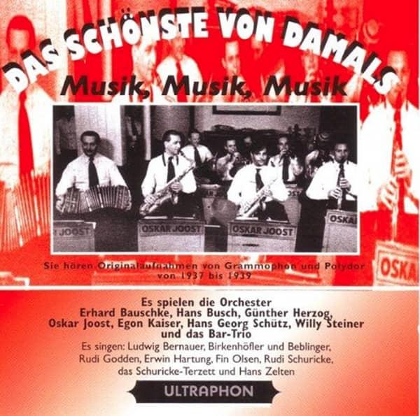 Musik, Musik, Musik 1937-39 (CD)