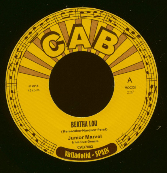 Bertha Lou - Just Keep On Going (7inch, 45rpm)