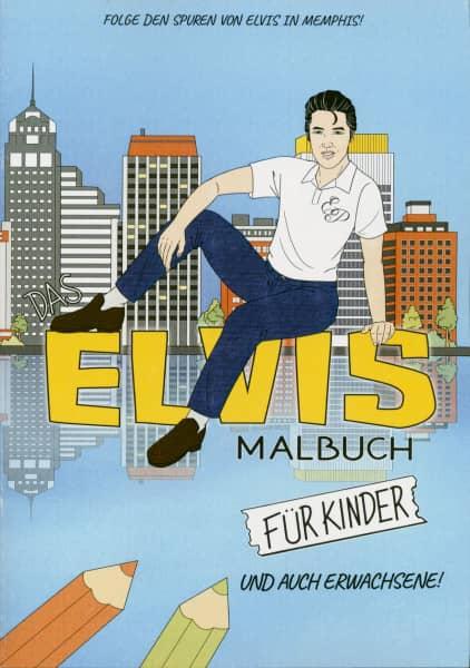 Das Elvis Malbuch für Kinder und auch Erwachsene!