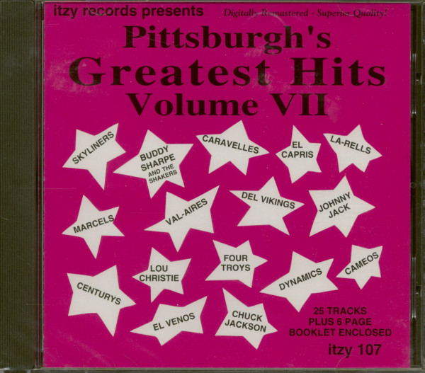Pittsburgh's Greatest Hits Vol. 7 (CD)