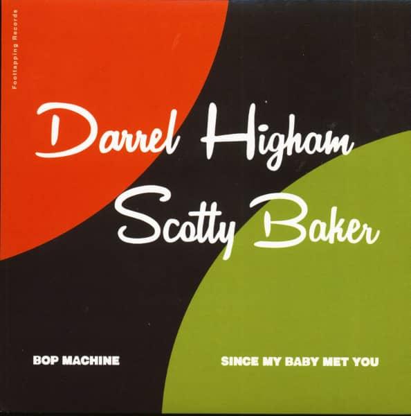 Darrel Higham - Scotty Baker (7inch, 45rpm, PS)