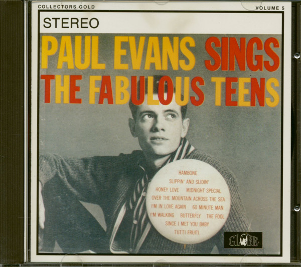 Paul Evans Sings The Fabulous Teens (CD)