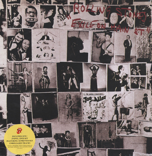 Exile On Main Street (2-LP - 2-CD-DVD - Book) Box