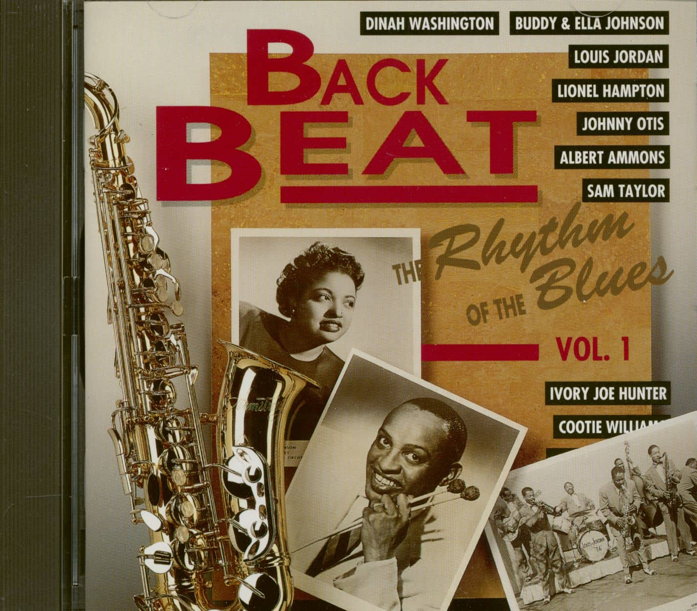 Various Cd Back Beat The Rhythm Of The Blues Vol 1 Cd