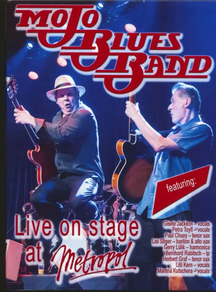 Live On Stage At Metropol (DVD)