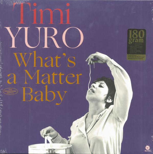 What's A Matter Baby (LP, 180g Vinyl, Ltd.)