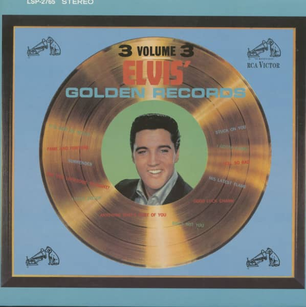 Elvis' Golden Records Vol.3 (LP, 180g Vinyl, Ltd.)