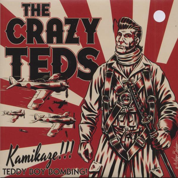 Kamikaze (7inch, 45rpm, White Vinyl, EP, PS)
