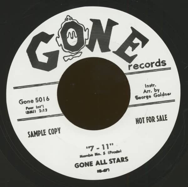 7-11 - The Gee Gee Walk (7inch, 45rpm)