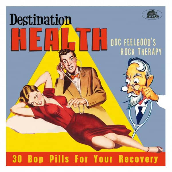Destination Health - Dr. Feelgood's Rock Therapy (CD)