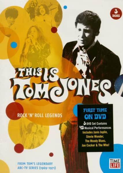 This Is Tom Jones - Rock'n'Roll Legends TV Special (3-DVD)
