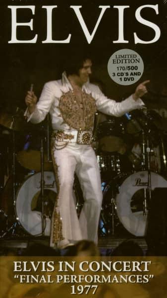 Elvis In Concert 'Final Performances' 1977 (3CD-1DVD)