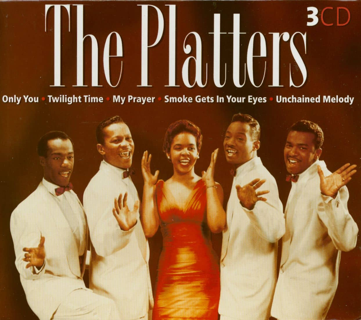 The Platters Cd The Platters 3 Cd Bear Family Records