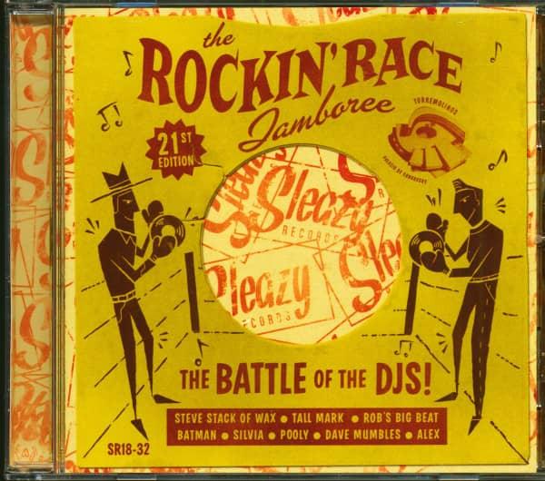 The Rockin' Race Jamboree 2015 - 21st Edition - The Battle Of The DJ's! (CD)