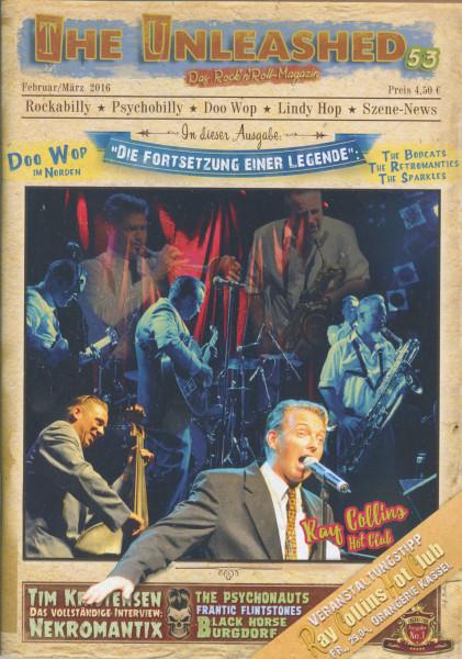 Das Rock'n'Roll Magazin - Ausgabe 1 - Februar-März 2016