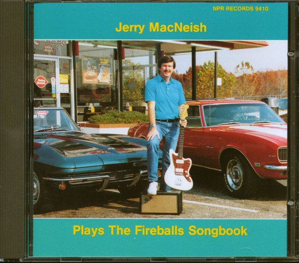 Jerry MacNeish Plays The Fireballs Songbook (CD)