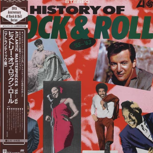 History Of Rock & Roll - Atlantic Masterpieces 1955-1963 (Japan Vinyl-LP)