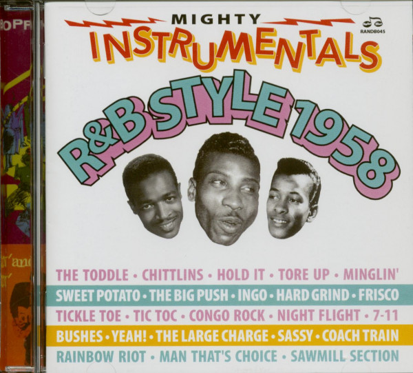 Mighty Instrumentals R&B Style 1958 (2-CD)