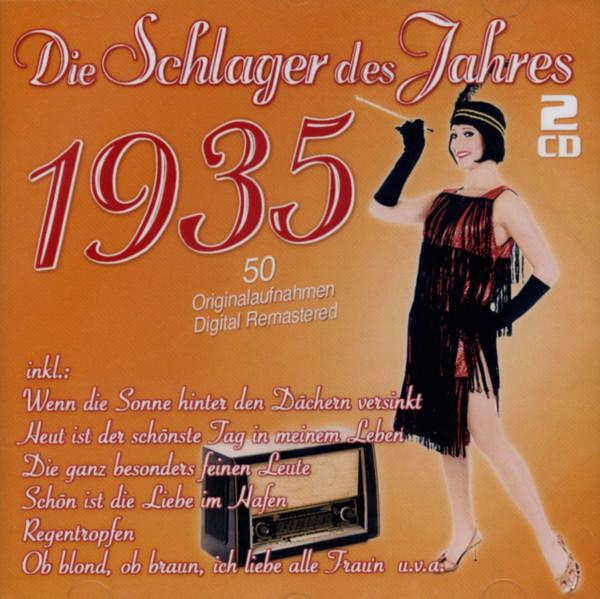 Die Schlager des Jahres 1935 (2-CD)