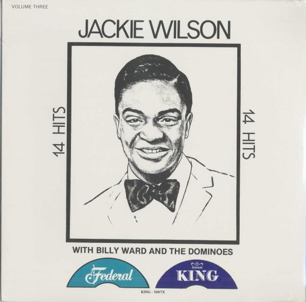 14 Hits - Jackie Wilson - The Dominoes, Vol.3 (LP)