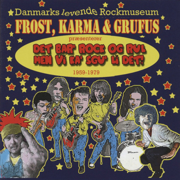 Frost, Karma & Grufus 50th Anniversary CD
