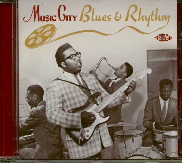 Music City Blues & Rhythm (CD)
