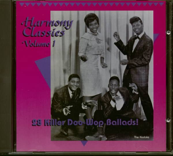 Harmony Classics Vol.1 - 28 Killer Doo-Wop Ballads! (CD)