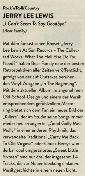 Presse-Jerry-Lee-Lewis-I-Can-t-Seem-To-Say-Goodby-LP-180gram-Vinyl-eclipsed