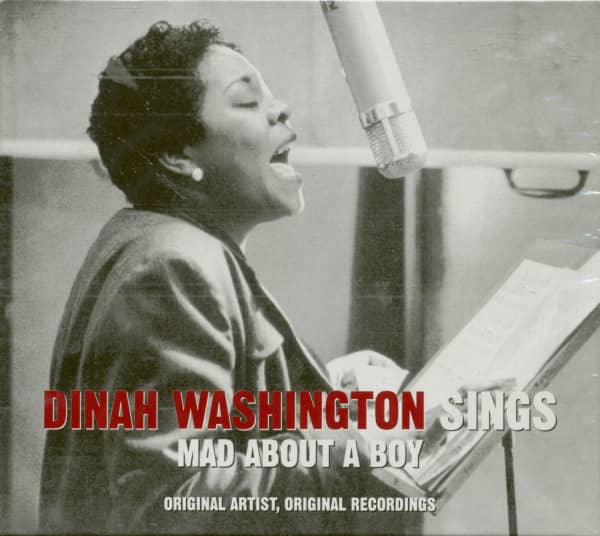 Sings Mad About A Boy (CD)