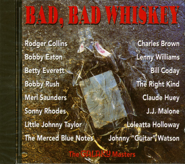 Bad, Bad Whiskey (CD)