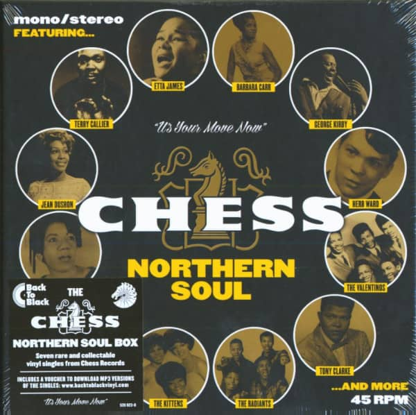 The Chess Northern Soul 7s Box (7x45rpm Box Set, 7inch, SC)