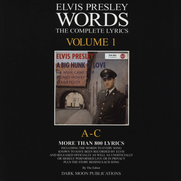 Words - The Complete Lyrics A-C