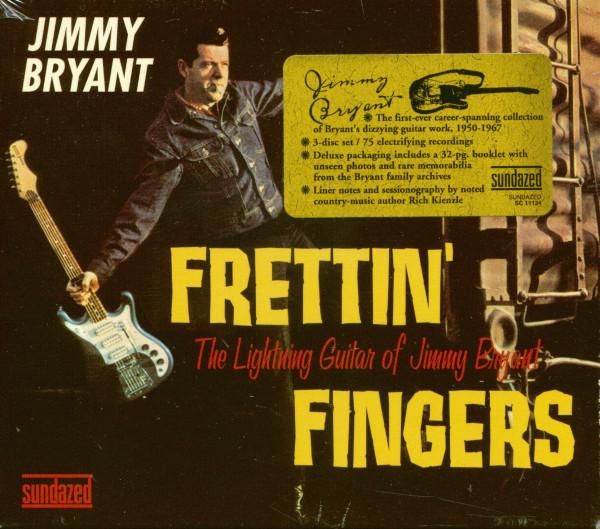 Frettin' Fingers - The Lightning Guitar of Jimmy Bryant (3-CD)