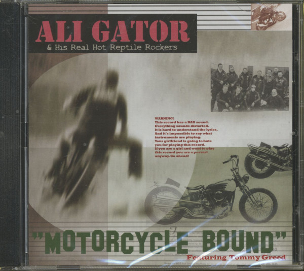 Motorcycle Bound (CD)
