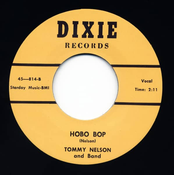 Hobo Bop - Honey Moon Blues (7inch, 45rpm)